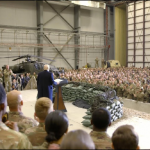 President Trump Meets Troops
