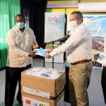 Jamaica — Chinese Company Donates Masks