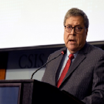 Attorney General Barr — U.S. Companies Kissing Up To China